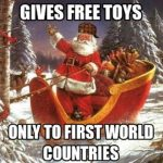 First World Santa