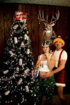Redneck Christmas Pose