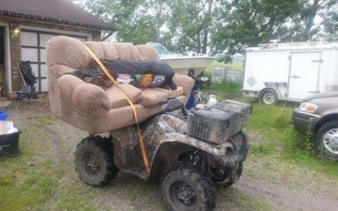 Redneck Family Quad