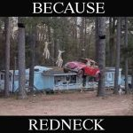 Because Redneck Santa Scene