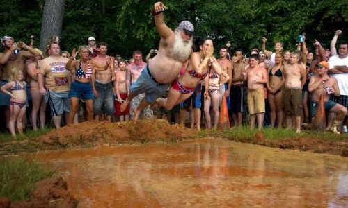 Because Redneck Swimming Hole