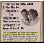 Valentines Day Funeral