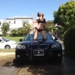 Bikini Girl Car Wash Fail