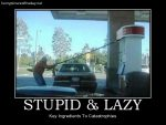 Stupid and lazy