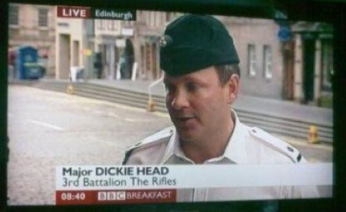 Funny Names - Dickie Head