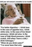 Old Woman's Health Remedy