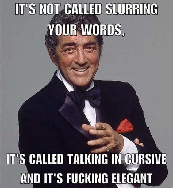 Slurring Your Words