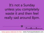 Wasted Sundays