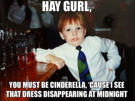 You Must Be Cinderella