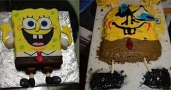 Nailed It - Sponge Bob Cake