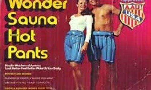 Sauna Pants Fail
