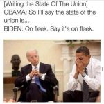 State Of The Union Is obama biden meme