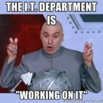 The IT Department image