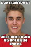 Bieber In Jail image
