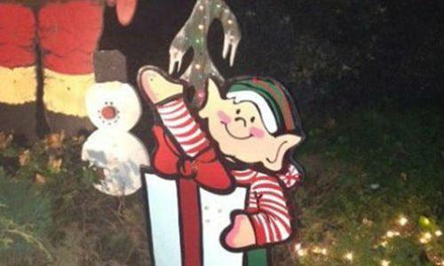 Christmas Elf Fail