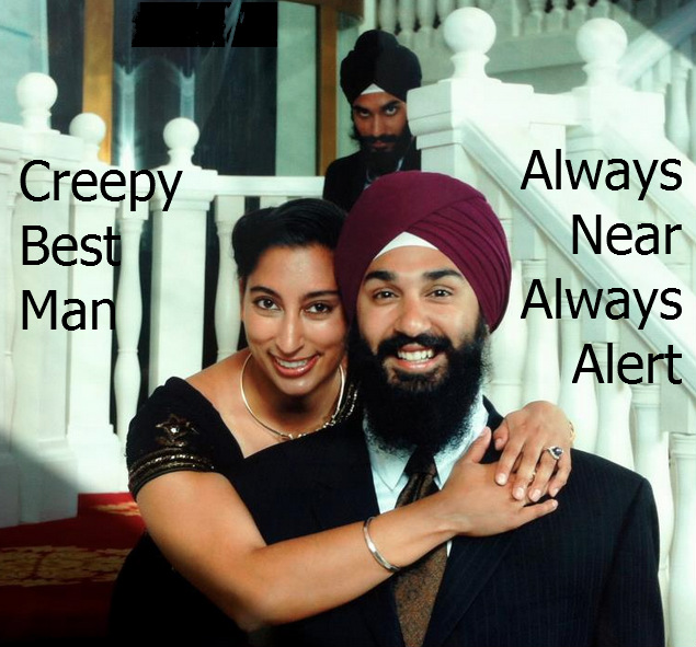 Creepy Best Man image