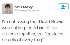 Was David Bowie The Glue? image
