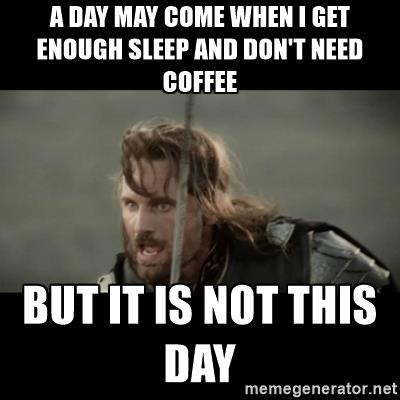 Not Today #coffee image