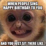 Happy Birthday Awkward