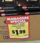 Tasty Crackers?