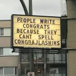 Writing Congrats