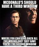 McDonalds Third Window