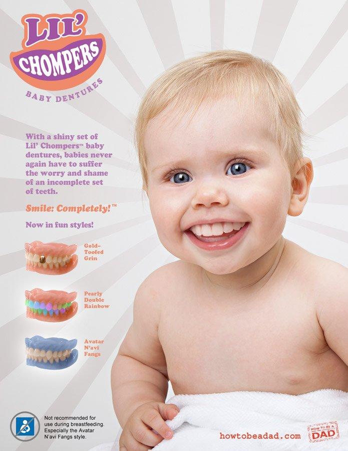 Bad Dad Baby Dentures image