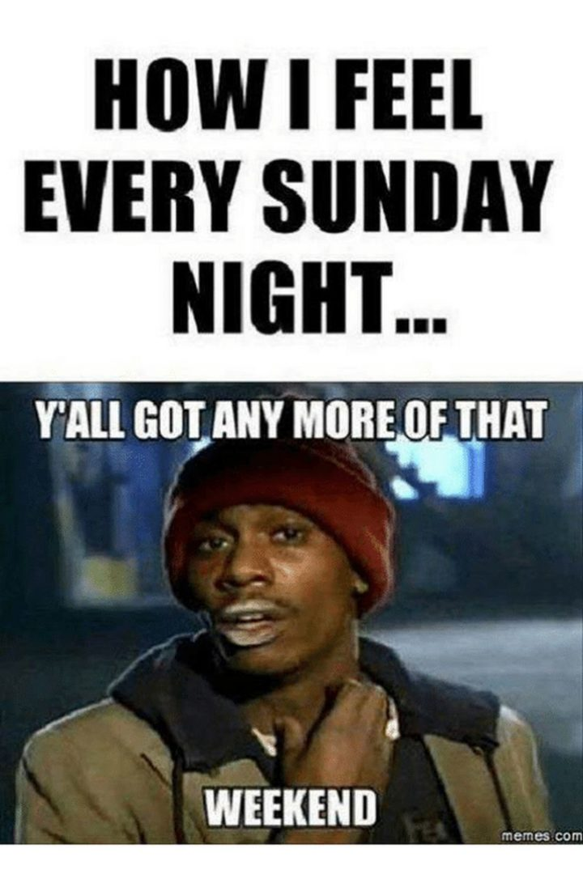 Sunday Night Blues