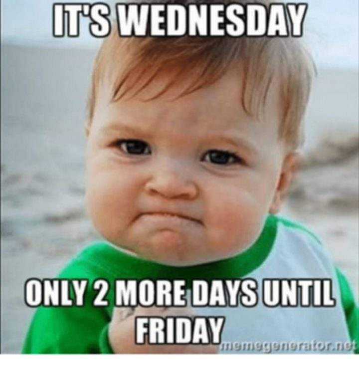 Wednesday Almost Friday