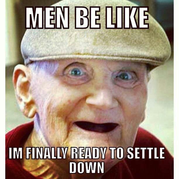 Men Settling Down