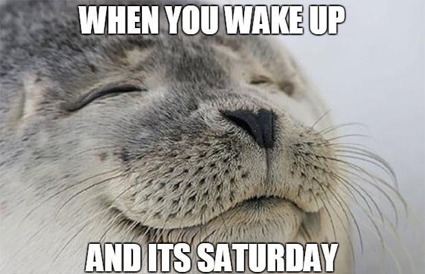 Saturday Wake Up