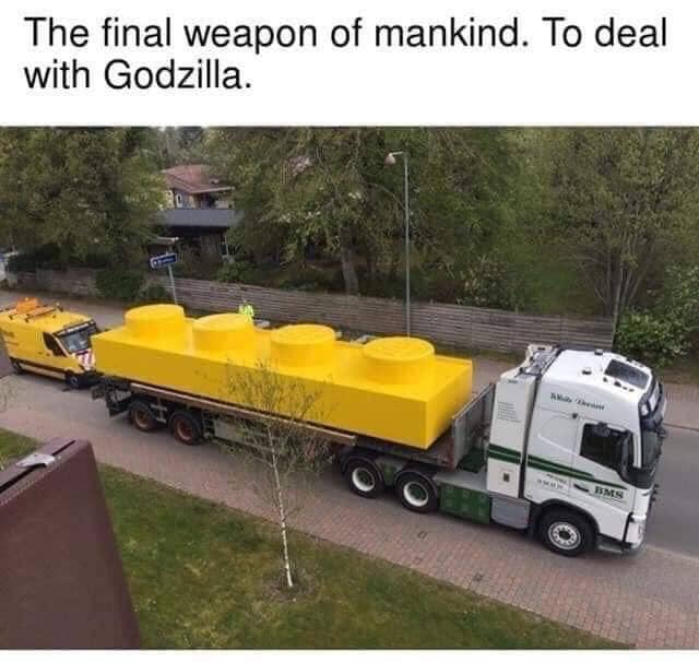 Weapon of Godzilla Destruction