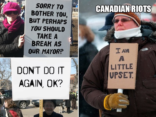 canadian riots image