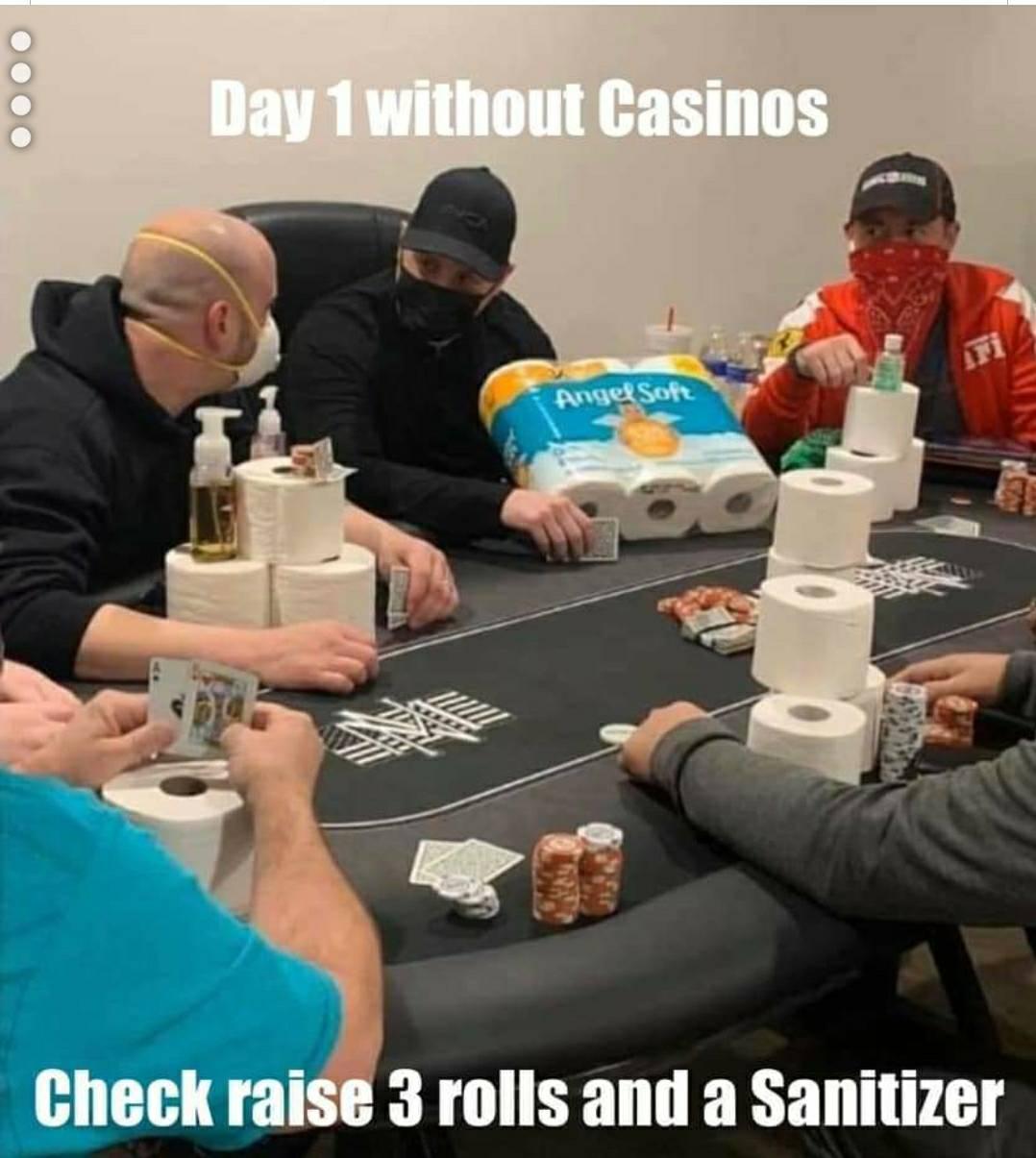 Covid poker image