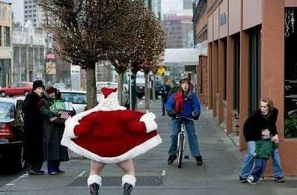 More Disturbing Santa
