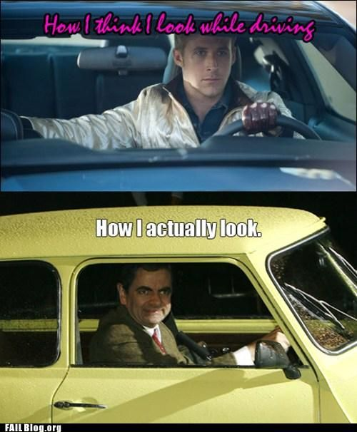 How I Look Driving