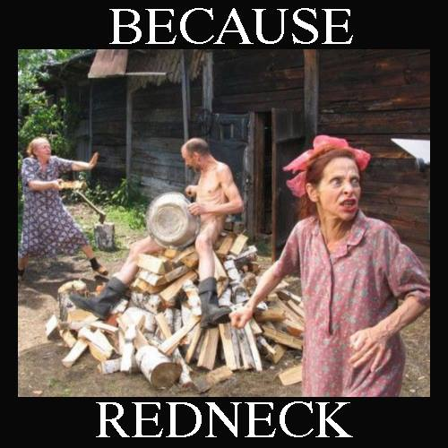 Typical Redneck Scene Laughshopcom