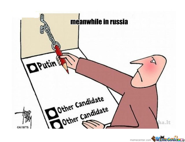 Funny Go Vote Meme : Meanwhile in russia laughshop