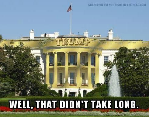 White House Trump Style Laughshop Com
