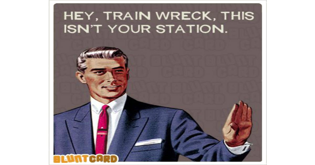 Train Wreck train wreck laughshop com